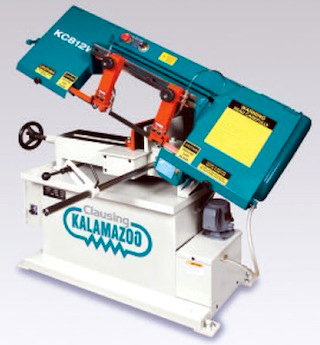 Horizontal Bandsaw: Manual to Fully Automatic Numerically Controlled CNC Models 8 inch (200 mm) Wet Cutting Bandsaw